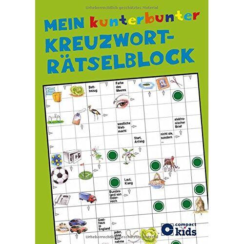 - Mein kunterbunter Kreuzworträtselblock: Kreuzworträtsel für Kinder ab 8 Jahren - Preis vom 05.03.2021 05:56:49 h