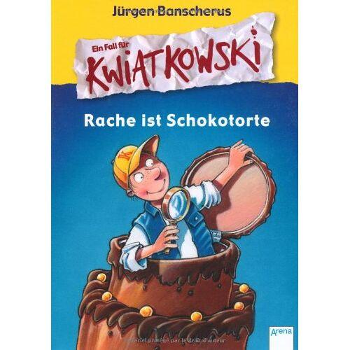 Jürgen Banscherus - Ein Fall für Kwiatkowski. Rache ist Schokotorte - Preis vom 27.02.2021 06:04:24 h
