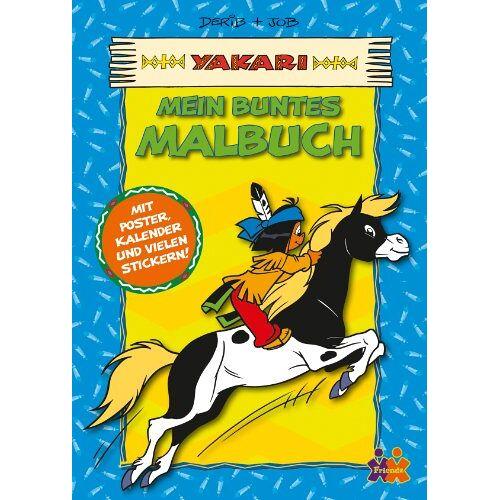 Derib - Yakari: Mein buntes Malbuch - Preis vom 24.01.2020 06:02:04 h