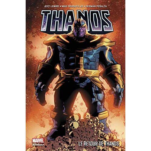 Jeff Lemire - Thanos T01 : Le retour de Thanos - Preis vom 23.02.2021 06:05:19 h