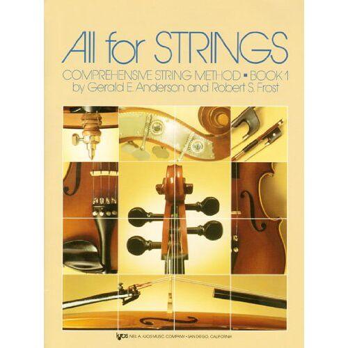 Anderson, Gerald E. - All for Strings vol.1 : Piano accompaniment - Preis vom 21.10.2020 04:49:09 h