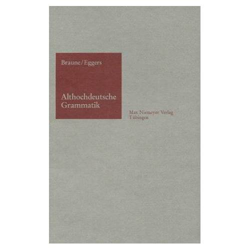 - Althochdeutsche Grammatik - Preis vom 13.05.2021 04:51:36 h
