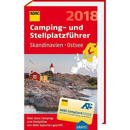 ADAC Verlag GmbH & Co KG - ADAC Camping- und Stellplatzführer Skandinavien, Ostsee 2018 (ADAC Campingführer) - Preis vom 20.10.2020 04:55:35 h