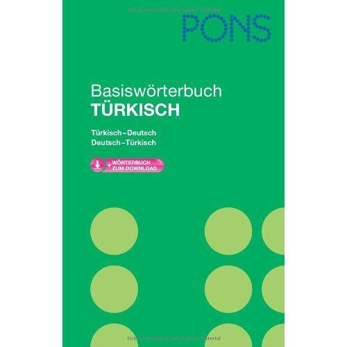 - PONS Basiswörterbuch Türkisch: Mit Download-Wörterbuch. Türkisch-Deutsch /Deutsch-Türkisch - Preis vom 28.05.2020 05:05:42 h