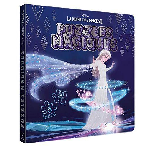 - LA REINE DES NEIGES 2 - Puzzles Magiques - 5 puzzles 30 pièces - Disney (Puzzles Féeriques) - Preis vom 19.01.2021 06:03:31 h