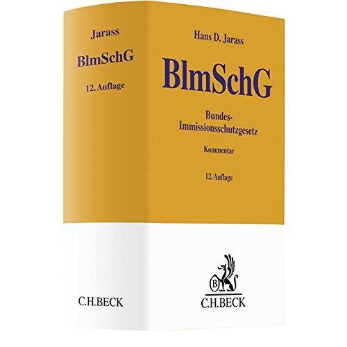Jarass, Hans D. - Bundes-Immissionsschutzgesetz: Kommentar (Gelbe Erläuterungsbücher) - Preis vom 21.10.2020 04:49:09 h