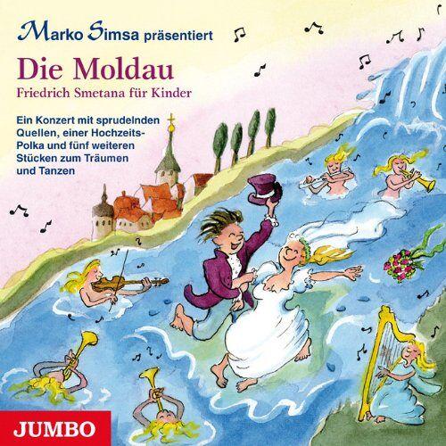Marko Simsa - Die Moldau: Friedrich Smetana für Kinder: Und weitere Stücke von Friedrich Smetana für Kinder - Preis vom 25.02.2021 06:08:03 h