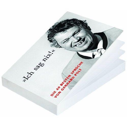 Gerhard Polt - Die besten Sprüche von Gerhard Polt: 40 Postkarten - Preis vom 16.04.2021 04:54:32 h