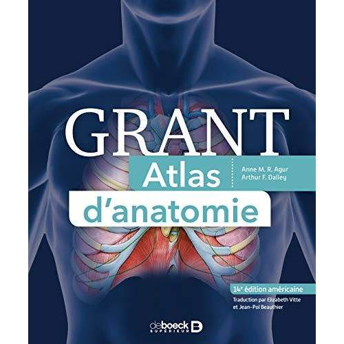 Collectif - Atlas d'anatomie de Grant (Anatomie physiologie) - Preis vom 28.03.2020 05:56:53 h