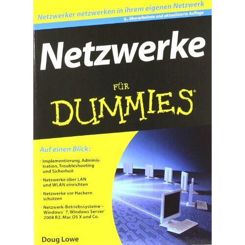 Doug Lowe - Netzwerke für Dummies (Fur Dummies) - Preis vom 13.08.2020 04:48:24 h