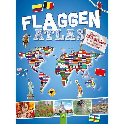 Carla Felgentreff - Flaggenatlas mit Stickern: Über 250 Sticker und Wissenswertes aus aller Welt - Preis vom 20.10.2020 04:55:35 h