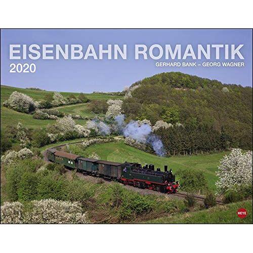Georg Wagner - Eisenbahn Romantik 2020 44x34cm - Preis vom 25.02.2021 06:08:03 h