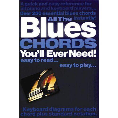 - All The Blues Chords You'll Ever Need: Noten für Klavier oder Keyboard - Preis vom 20.10.2020 04:55:35 h