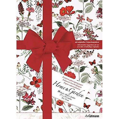 """- Geschenkpapier """"Kreativ"""": Home & Garden: Exklusives Geschenkpapier mit originellen Verpackungsideen - Preis vom 16.01.2021 06:04:45 h"""