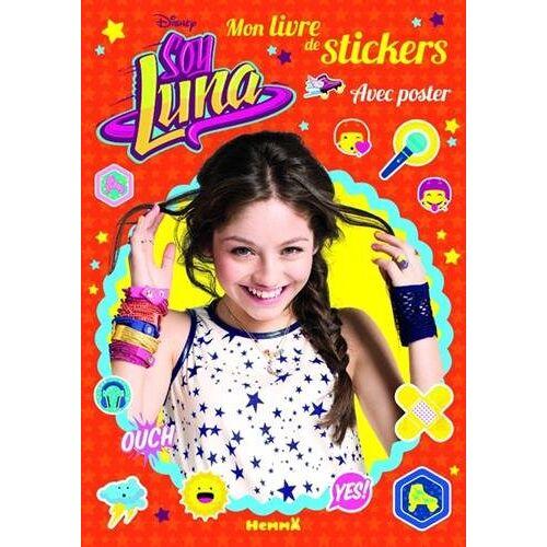 Disney - Soy Luna : Mon livre de stickers avec poster - Preis vom 20.10.2020 04:55:35 h