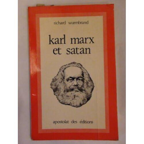 Richard Wurmbrand - karl marx und satan. - Preis vom 16.04.2021 04:54:32 h