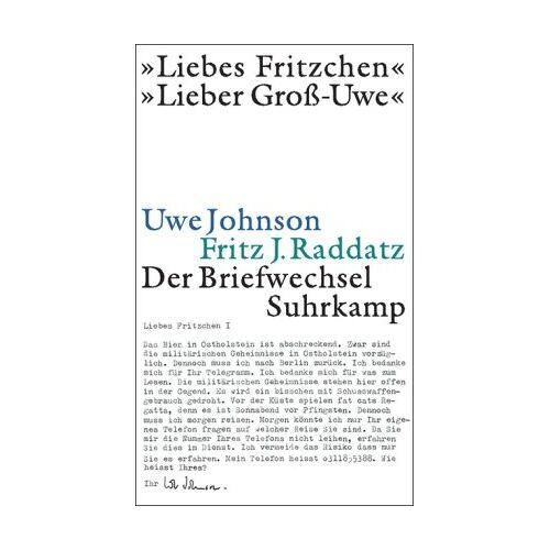 Uwe Johnson - »Liebes Fritzchen« - »Lieber Groß-Uwe«: Der Briefwechsel - Preis vom 07.03.2021 06:00:26 h