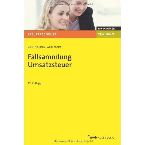 Wolfgang Bolk - Fallsammlung Umsatzsteuer - Preis vom 01.03.2021 06:00:22 h