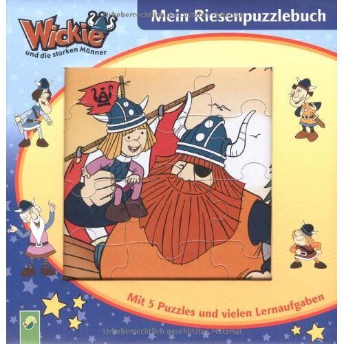 - Wickie - Mein Riesenpuzzlebuch. Mit 5 Puzzles und vielen Lernaufgaben - Preis vom 15.05.2021 04:43:31 h