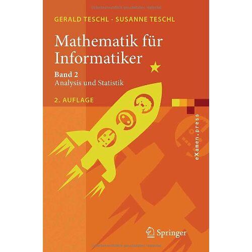 Gerald Teschl - Mathematik für Informatiker: Band 2 - Preis vom 12.05.2021 04:50:50 h