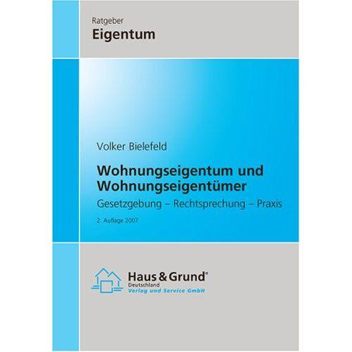 Volker Bielefeld - Wohnungseigentum und Wohnungseigentümer - Preis vom 18.10.2020 04:52:00 h
