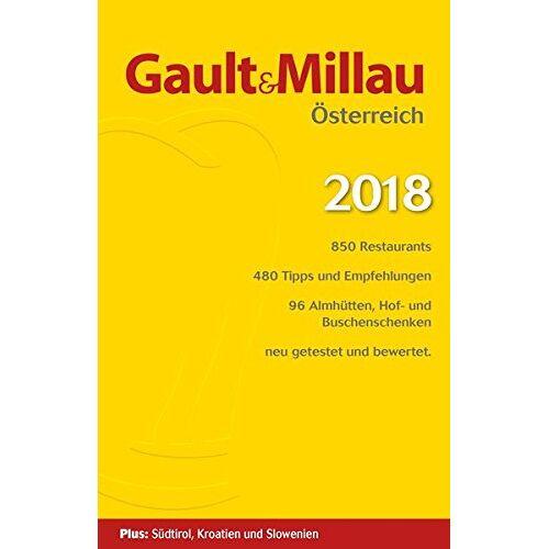 Hohenlohe, Martina und Karl - Gault&Millau Österreich 2018: Restaurant- und Weinguide - Preis vom 31.03.2020 04:56:10 h