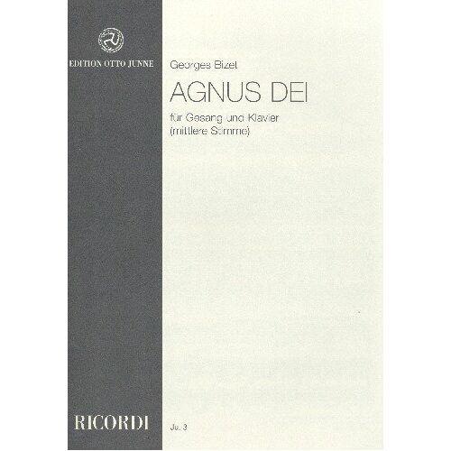 - Agnus Dei Es-Dur: für mittlere Singstimme und Klavier - Preis vom 09.05.2021 04:52:39 h