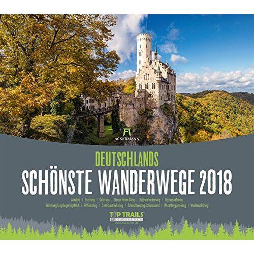 Ackermann Kunstverlag - Deutschl. schönste Wanderwege 2018 - Preis vom 09.04.2020 04:56:59 h