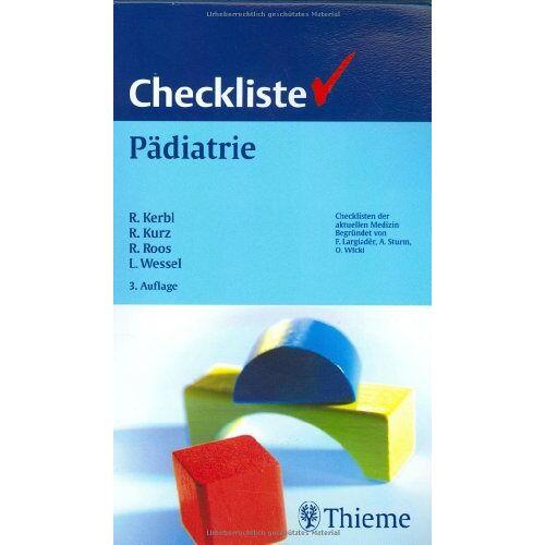 Reinhold Kerbl - Checkliste Pädiatrie - Preis vom 14.05.2021 04:51:20 h