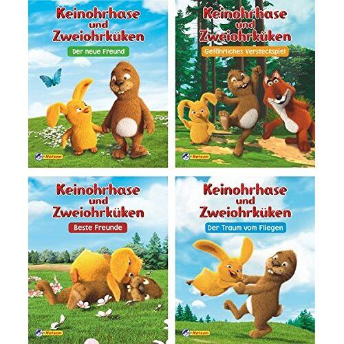 Nelson - 4 Bücher - Keinohrhase und Zweiohrküken - Preis vom 20.10.2020 04:55:35 h