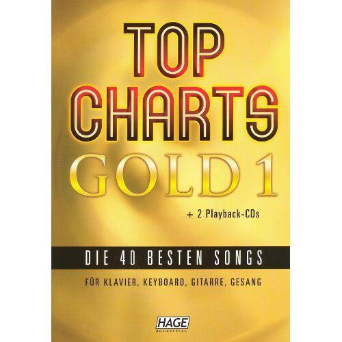 - Top Charts Gold. Das Sing- und Spielbuch. Für Klavier, Keyboards, Gitarre oder Gesang, m. 2 Audio-CDs - Preis vom 27.02.2021 06:04:24 h