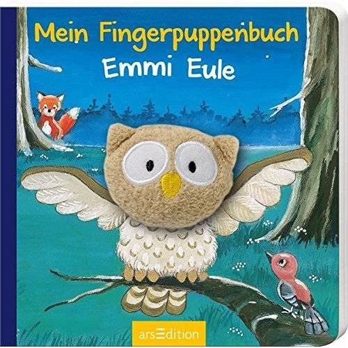 Lea-Marie Erl - Mein Fingerpuppenbuch - Emmi Eule (Fingerpuppenbücher) - Preis vom 17.01.2020 05:59:15 h