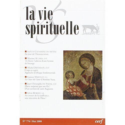 - La vie spirituelle numéro 776 - Preis vom 14.05.2021 04:51:20 h