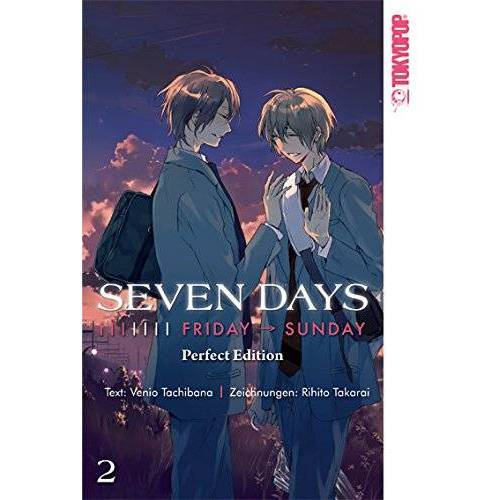 Venio Tachibana - Seven Days Perfect Edition 02: Friday - Sunday - Preis vom 13.04.2021 04:49:48 h