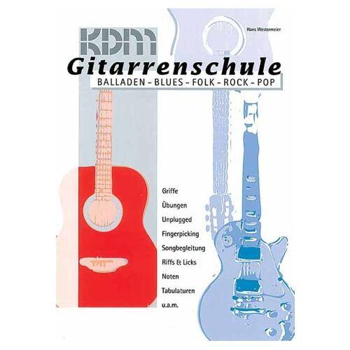 Hans Westermeier - Gitarrenschule, Balladen - Blues - Folk - Pop - Rock, m. Audio-CD - Preis vom 03.05.2021 04:57:00 h