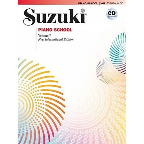 Suzuki, Dr. Shinichi - Suzuki Piano School New International Edition Piano Book and CD, Volume 7 (Suzuki Method Core Materials) - Preis vom 07.05.2021 04:52:30 h