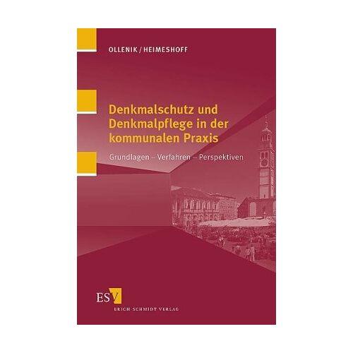 Walter Ollenik - Denkmalschutz und Denkmalpflege in der kommunalen Praxis: Grundlagen - Verfahren - Perspektiven - Preis vom 20.10.2020 04:55:35 h