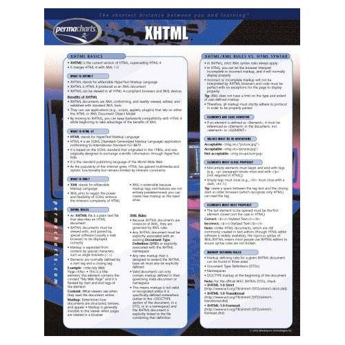 - XHTML - Preis vom 20.10.2020 04:55:35 h