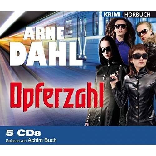 Arne Dahl - Opferzahl - Hörbuch 5 CDs - Preis vom 05.09.2020 04:49:05 h