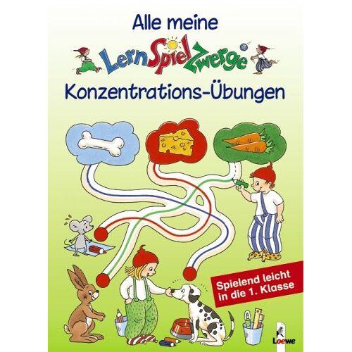 Birgitt Carstens - Alle meine LernSpielZwerge Konzentrations-Übungen - Preis vom 29.11.2020 05:58:26 h