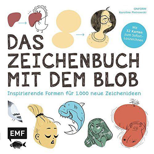 Karoline Pietrowski - Das Zeichenbuch mit dem Blob: Inspirierende Formen für 1.000 neue Zeichenideen - Preis vom 07.04.2020 04:55:49 h