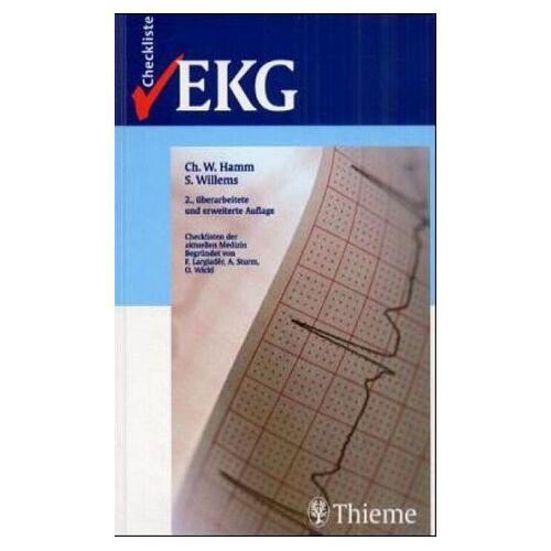 Hamm, Christian W. - Checklisten der aktuellen Medizin, Checkliste EKG - Preis vom 13.04.2021 04:49:48 h