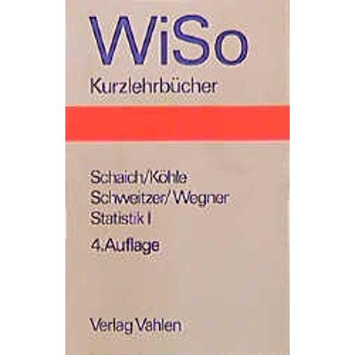 - Statistik für Volkswirte, Betriebswirte und Soziologen Statistik I - Preis vom 13.05.2021 04:51:36 h