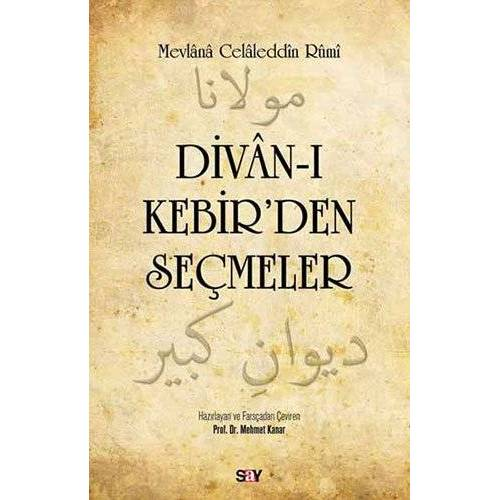 Mevlana Celaleddini Rumi - Divanı Kebir'den Seçmeler - Preis vom 17.04.2021 04:51:59 h