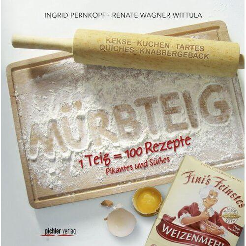 Ingrid Pernkopf - Mürbteig: 1 Teig = 100 Rezepte . Pikantes und Süßes - Preis vom 08.05.2021 04:52:27 h