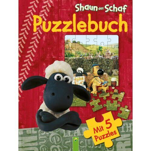- Shaun das Schaf - Puzzlebuch: 5 Puzzles á 35 Teile - Preis vom 19.01.2021 06:03:31 h