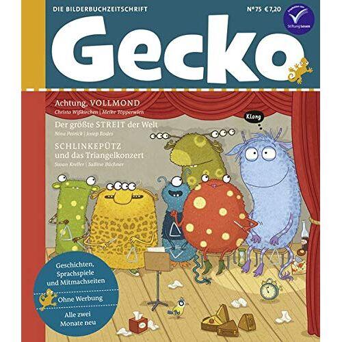 Susan Kreller - Gecko Kinderzeitschrift Band 75: Die Bilderbuchzeitschrift - Preis vom 30.07.2020 04:59:25 h