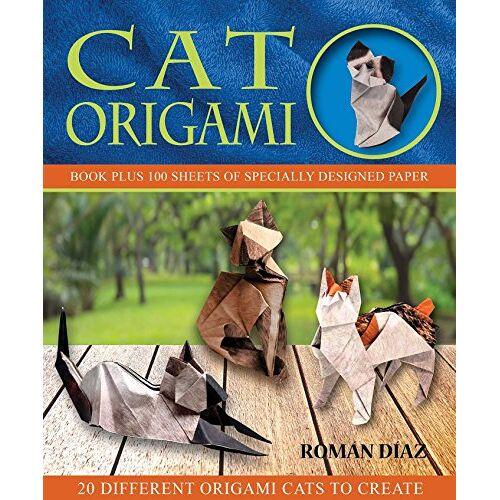 Roman Diaz - Cat Origami (Origami Books) - Preis vom 24.01.2021 06:07:55 h