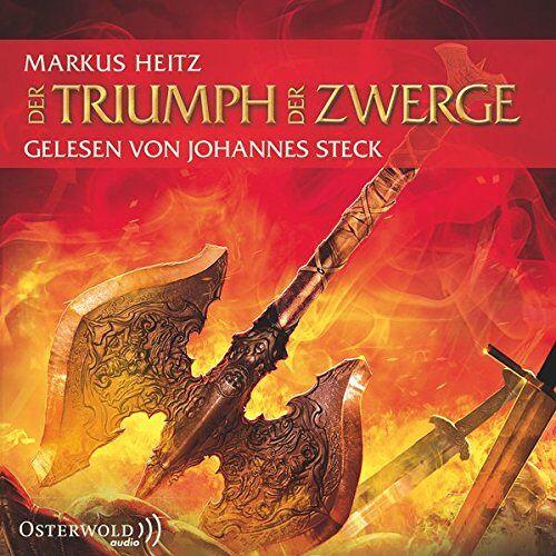 Markus Heitz - Der Triumph der Zwerge: 10 CDs (Die Zwerge, Band 5) - Preis vom 03.04.2020 04:57:06 h