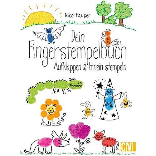 Nico Fauser - Dein Fingerstempelbuch: Aufklappen & hinein stempeln - Preis vom 19.01.2021 06:03:31 h